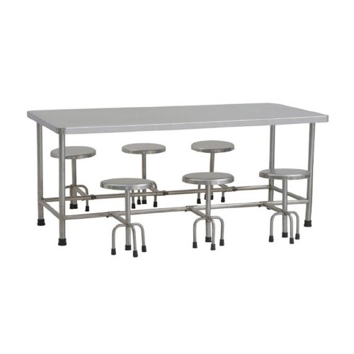 Stainless Steel Furniture, Stainless Steel Canteen Table