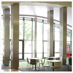 Stainless Steel Column Cladding